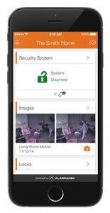 Aplicación móvil para sistemas de seguridad
