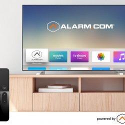 apple tv alarm-com