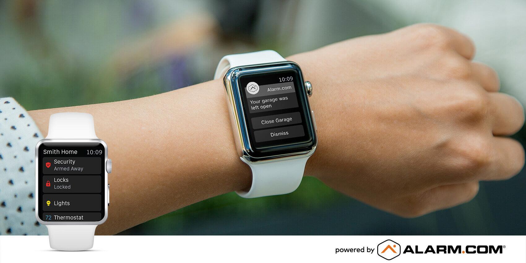 iwatch alarm-com